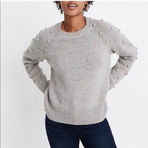 Madewell Palmroy Bobble Sleeve Womens Sweater 2XL